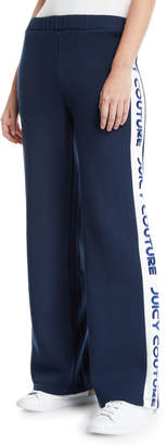 Juicy Couture Juicy Logo Border French Terry Sweatpants