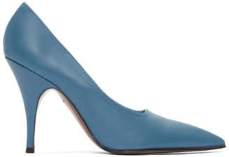 Victoria Beckham Blue Dorothy Heels