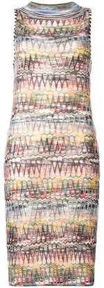 Missoni sleeveless knitted midi dress