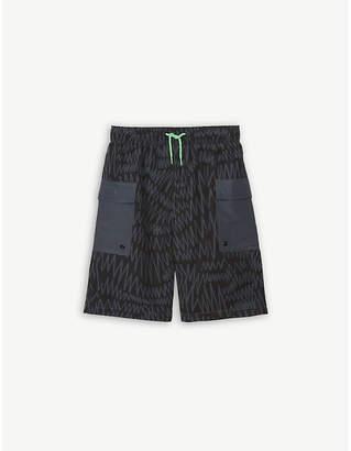 Stella McCartney Scribble print swim shorts 4-16 years