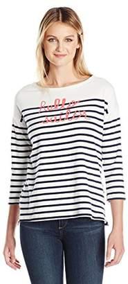 Sundry Women's Hello Sailor Long Sleeve