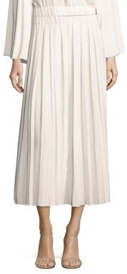 Elizabeth and James Quinn Pleated Midi Skirt $265 thestylecure.com