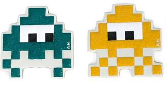 Anya Hindmarch 'Space Invaders' stickers