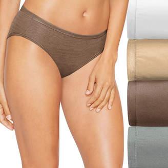 Hanes Cool Comfort Comfortsoft 4 Pair Bikini Panty 47husk