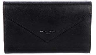 Balenciaga Papier Zip-Around Money Wallet