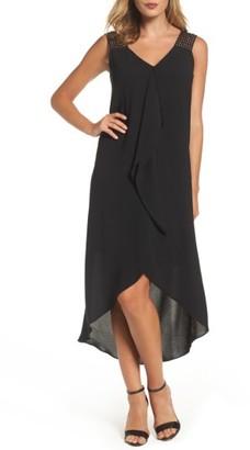 Women's Adrianna Papell Drape Front Shift Dress $140 thestylecure.com