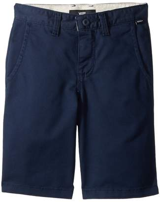Vans Kids Authentic Stretch Shorts Boy's Shorts