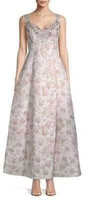 Aidan Mattox Strapless Sequin Minidress