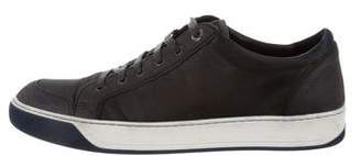 Lanvin Round-Toe Low-Top Sneakers