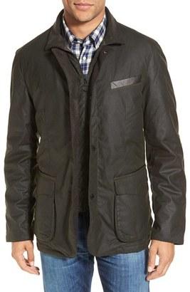 Men's Barbour Observe Waxed Cotton Jacket $749 thestylecure.com