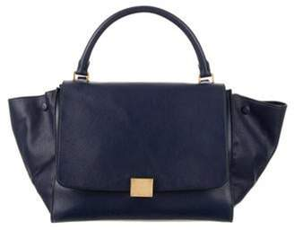 Celine Medium Trapeze Bag Navy Medium Trapeze Bag