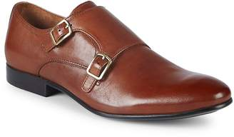 Kenneth Cole Men's Leather Monk Strap Shoes