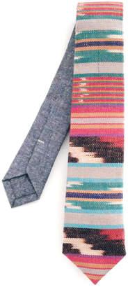 Jacqueline Rousseau Sunrise Ikat Necktie