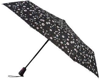 totes Auto Open/Close XTRA STRONG Dotty Daisy Umbrella (3 Section)