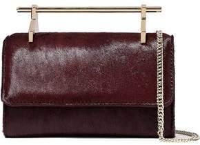 M2Malletier Calf Hair Shoulder Bag