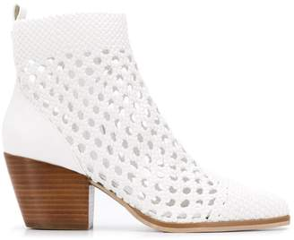 MICHAEL Michael Kors pointed cowboy ankle boots