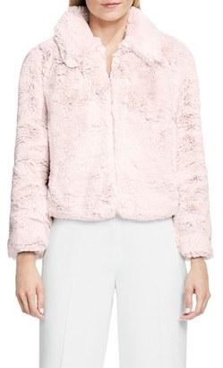 Women's Vince Camuto Faux Fur Jacket $199 thestylecure.com