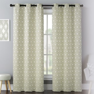 Mystique United Curtain Co. 2-pack Celestial Window Curtains
