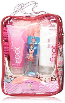 Bath Accessories Pretty Ballerina Foot Spa Set Flat Slippers
