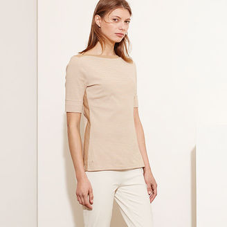 Ralph Lauren Striped Stretch Cotton Tee $59.50 thestylecure.com
