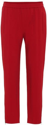 Stella McCartney Tamara cropped stretch cady pants