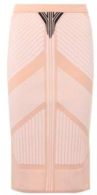 Prada Printed pencil skirt
