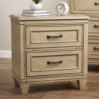Laurèl Foundry Modern Farmhouse Holsworthy 2 Drawer Nightstand