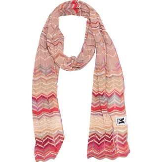 Missoni M By Pink Viscose Scarves