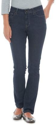 L.L. Bean L.L.Bean Women's True Shape Jeans, Favorite Fit Slim-Leg