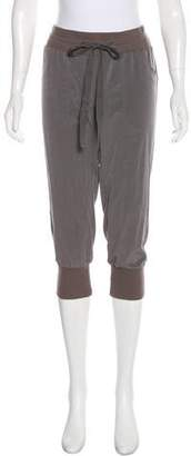 Elizabeth and James Mid-Rise Cropped Joggers