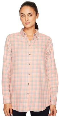 Fjallraven High Coast Flannel Shirt Women's Long Sleeve Button Up