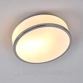 Buy Deckenleuchte Flush silber satiniert IP44!