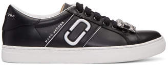 Marc Jacobs Black Chain Link Empire Sneakers