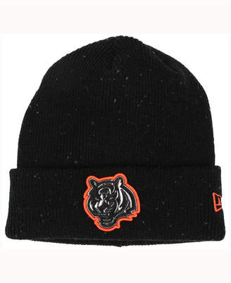 New Era Cincinnati Bengals Heather Spec Knit Hat