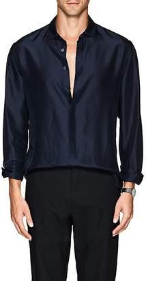 Giorgio Armani Men's Silk Georgette Shirt