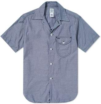 Post Overalls Short Sleeve Eazy Cruize 5 Washed Out Dobby Shirt