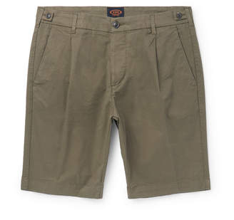 Tod's Tapered Stretch-Cotton Twill Shorts