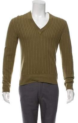 Saint Laurent Cashmere Cable Knit Sweater