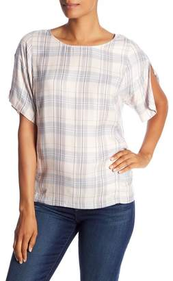 Vince Camuto Day Dream Plaid Blouse
