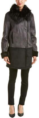 T Tahari Fiona Coat
