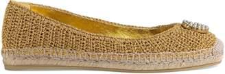 Gucci Crochet espadrille