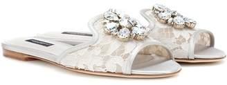 Dolce & Gabbana Bianca slip-on sandals