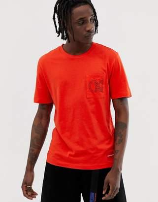 Calvin Klein Jeans graphic pocket t-shirt