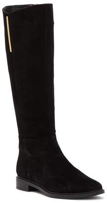 Calvin Klein Francine Suede Tall Boot