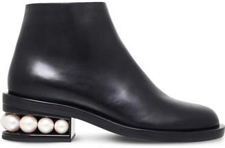 Nicholas Kirkwood Casati leather ankle boots