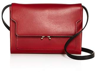 Marni Trunk Pochette Color Block Leather Crossbody