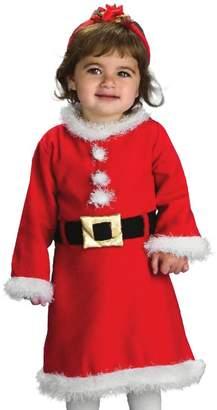 Rubie's Costume Co Costume (Canada) Baby Girl's Santa Costume