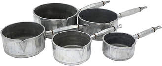 One Kings Lane Vintage 1920s French Art Deco Sauce Pans - Set of 5