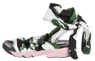 Christian Dior Brooklyn Wrap-Around Sandals