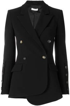 Altuzarra asymmetric belted blazer